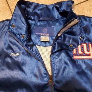NFL Jackets & Coats - 🏈NY Giants vintage reebok bomber jacket szL.